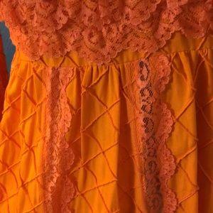 Vintage Dresses - Vintage 1970's Mexican Wedding Dress